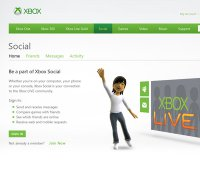 live.xbox.com screenshot