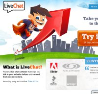 livechatinc.com screenshot