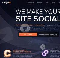 livefyre.com screenshot