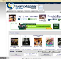 livemixtapes.com screenshot