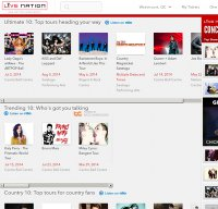 livenation.com screenshot