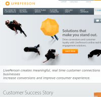 liveperson.com screenshot