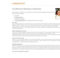 liveperson.net screenshot