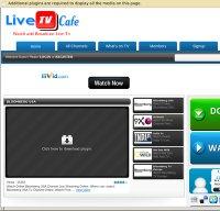 livetvcafe.net screenshot