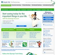 lloydsbank.com screenshot