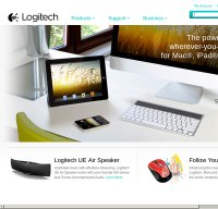 logitech.com screenshot