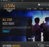 lolesports.com screenshot