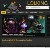 lolking.net screenshot