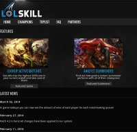 lolskill.net screenshot