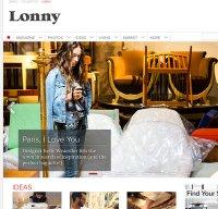 lonny.com screenshot