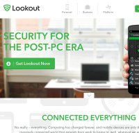 lookout.com screenshot