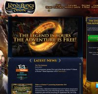 lotro.com screenshot