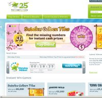 lottery.ie screenshot