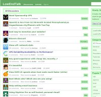 lowendtalk.com screenshot