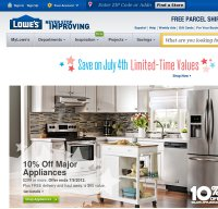 lowes.com screenshot