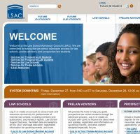 lsac.org screenshot
