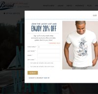 luckybrand.com screenshot