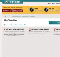 luckyshare.net screenshot