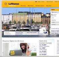 lufthansa.com screenshot