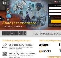 lulu.com screenshot