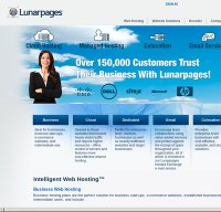 lunarpages.com screenshot