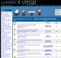 lunaticoutpost.com screenshot