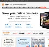 magentocommerce.com screenshot