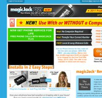 magicjack.com screenshot