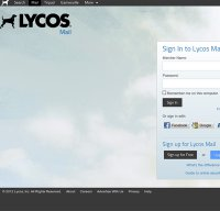 mail.lycos.com screenshot