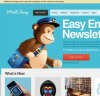 mailchimp.com screenshot