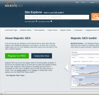 majesticseo.com screenshot