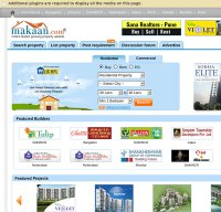 makaan.com screenshot