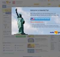 makemytrip.com screenshot