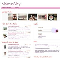 makeupalley.com screenshot