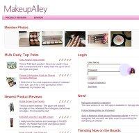 makeupalley.com screenshot