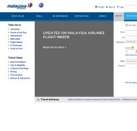 malaysiaairlines.com screenshot