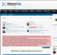 malwaretips.com screenshot