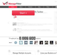 manageflitter.com screenshot