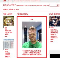 mandatory.com screenshot