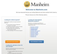 manheim.com screenshot