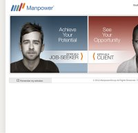 manpower.com screenshot