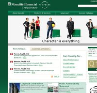 manulife.com screenshot