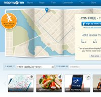 mapmyrun.com screenshot