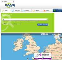 mappy.com screenshot