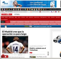 marca.com screenshot