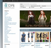 marketplace.secondlife.com screenshot