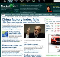 marketwatch.com screenshot