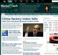 marketwatch.com screenshot
