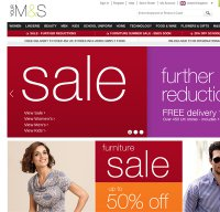 marksandspencer.com screenshot