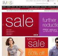 marksandspencer.com screenshot